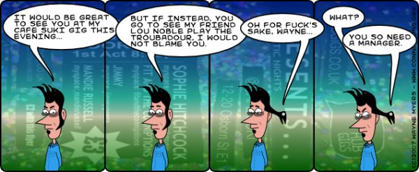 Click comic for Lou's myspace page
